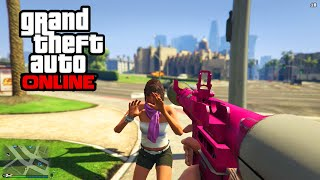 "GTA 5 Online - ""First Person"" Free Roam Online Gameplay! (GTA 5 PS4 & Xbox One HD 1080p)"