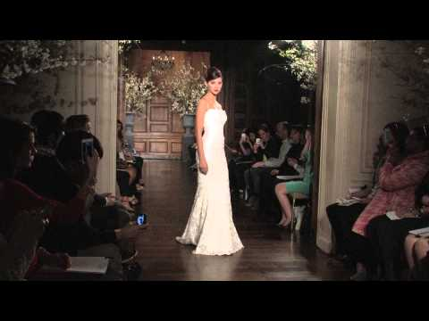 Romona Keveza Spring 2014 Bridal Couture Runway Show
