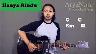 Chord Gampang (Hanya Rindu - Andmesh Kamelang) by Arya Nara (Tutorial Gitar) Untuk Pemula