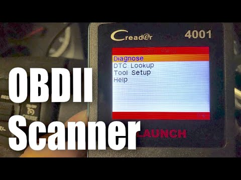 Launch CReader 4001 OBDII Diagnostic Scan Tool for Check Engine Light Review