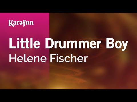 Karaoke Little Drummer Boy - Helene Fischer *