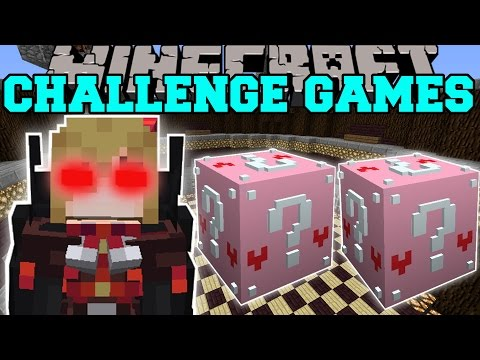 Minecraft: VAMPIRE CHALLENGE GAMES - Lucky Block Mod - Modded Mini-Game