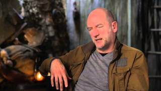The Hobbit: An Unexpected Journey: Graham Mctavish Is Dwalin 2012 Movie Behind the Scenes