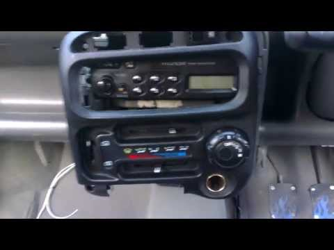 Hyundai Atoz amica Radio Facia Removal video