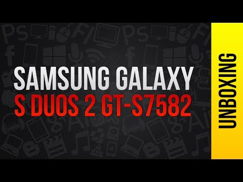 Unboxing - Samsung Galaxy S Duos 2 GT-S7582