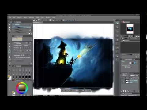 Speed Painting of Fantasy - The Power of Manga Studio