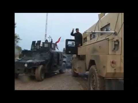 Iraqi forces liberate town from Islamic State militants