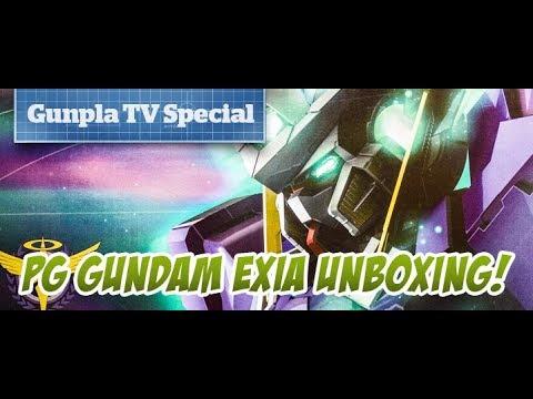 Gunpla TV Special - PG Exia Unboxing - Hlj.com