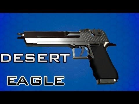 Desert Eagle (Israel, USA Army) Демонстрация оружия