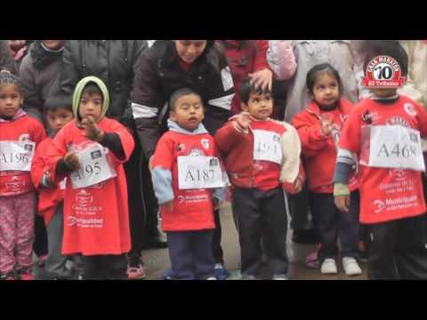 Categorías infantiles en el X° Maratón de El Tribuno de Jujuy