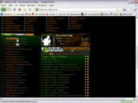 Pagina para escuchar Musica fulltonos.com