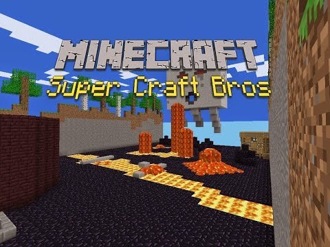 Minecraft - Super Craft Bros Cracked Mini Game Server: 1.8 24/7