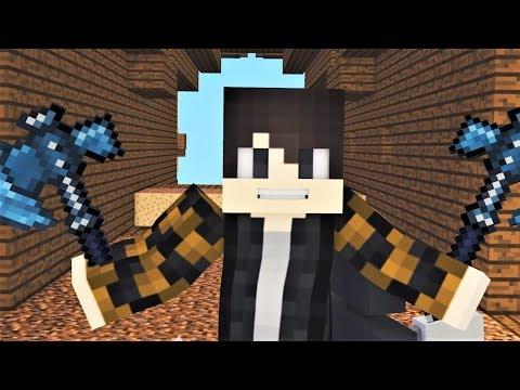 """MINECRAFT SONG: Hacker 1-4 """"Hacker VS Psycho Girl"""" Minecraft Songs and Minecraft Animation"""