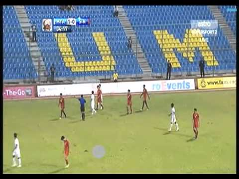 Merdeka cup 2013 Myanmar -2 vs Singapore -0 Full times (2013 09 11)