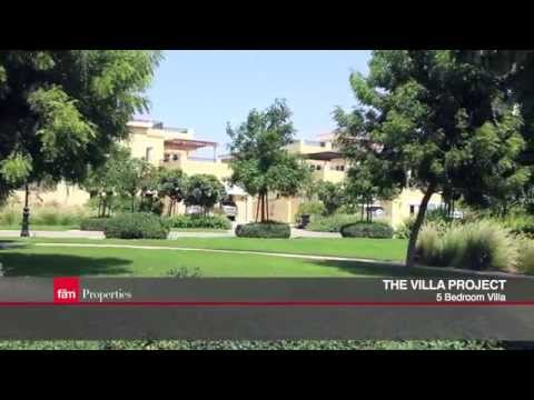 Upgraded Valencia 5 BR Brand For Sale In The Villa Project, Dubailand