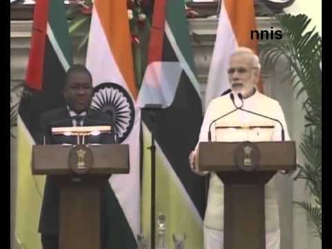 Mozambique India Sign Mou For Work On Renewable Energy