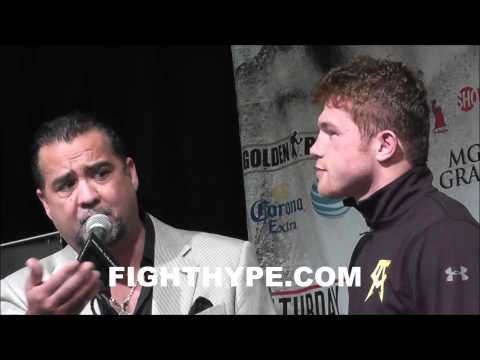 CANELO AGREES WITH NEGATIVE FAN REACTION AFTER STOPPAGE OF ANGULO THE FANS ARE ALWAYS RIGHT