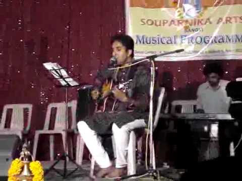 Dhadkan zara ruk gayi hai - performed by Rajesh Nair on 13 Jan...