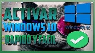 ACTIVAR WINDOWS 10 PARA SIEMPRE (CUALQUIER VERSION)(2019) | MundoTech