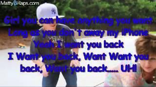 MattyB Want You Back Cover/Remix (Lyrics Video)