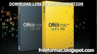 Microsoft Office 2011 for MAC [FINAL] - FREE Full Download