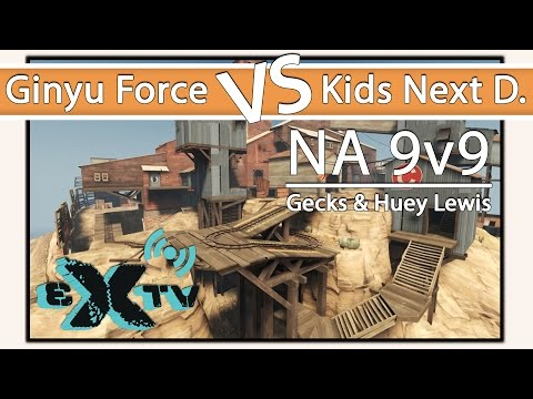 eXtv Live: UGC Grand Finals - Ginyu Force vs Kids Next Door (Map 2: Upward)