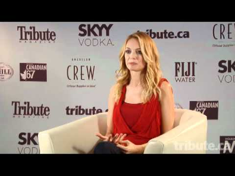 Heather Graham - The Flying Machine Interview at TIFF 2011