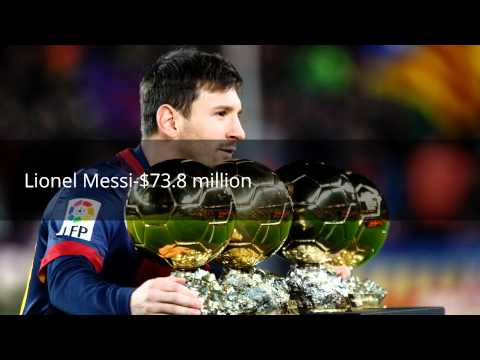 Top 10 list of World's Highest-paid Athletes
