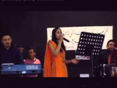 afghan girl hadia ghiasi singing hindi