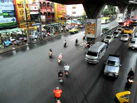 Bangkok Big C vehicles
