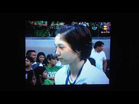 Mika Reyes Interview (UAAP S75 WVT Finals Game 2)