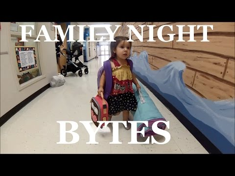 Family Night Bytes - Remy's First Day of School