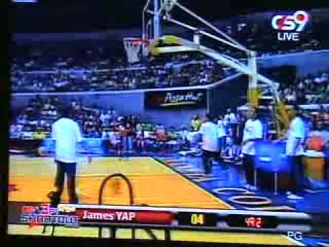 Three Point Shootout 2ndr James Yap video