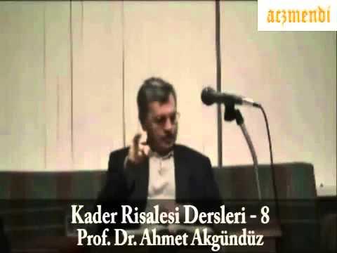 Prof. Dr. Ahmet Akgündüz Müslim Efendi'ye İftira Atıyor !
