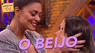 Juliana Paes e Tatá Werneck: Desculpa, só quero te beijar  | Lady Night | Humor Multishow
