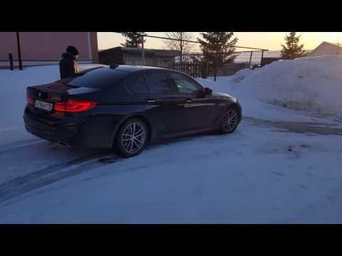 BMW G30  полный привод, на летней резине.