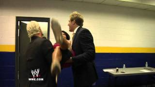 Vickie Guerrero, Jack Swagger and Dolph Ziggler take over a