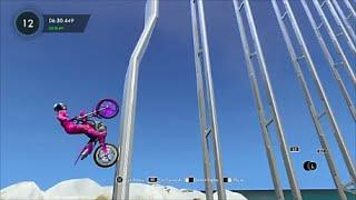"Trials Fusion Custom Ninja Track ""Rebrief's Skill Climb FX""【PS4】"