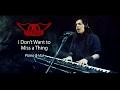 Aerosmith - I Dont Want to Miss a Thing | Versión Acústica en vivo - Piano & Voz (Paulo Cuevas)