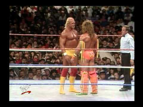 ultimate warrior vs hulk hogan wrestlemania 6