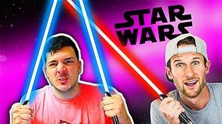 LIGHT SIDE vs DARK SIDE • Star Wars with NICKatNYTE