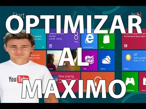 Optimizar. Acelerar y Limpiar Windows 8.1 y Todas las versiones   2015
