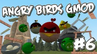 Garrys Mod Angry Birds Part 6 - Launch Day