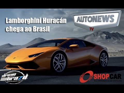 lamborghini hurac n chega ao brasil youtube. Black Bedroom Furniture Sets. Home Design Ideas