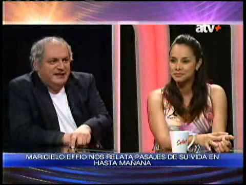 Entrevista a Maricielo Effio en Hasta Mañana