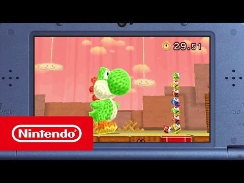 Poochy & Yoshi's Woolly World – Trailer (Nintendo 3DS)
