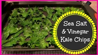 RECIPE: HOMEMADE KALE CHIPS!