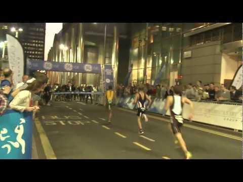 GE Canary Wharf Triathlon 2012 - Men's Race