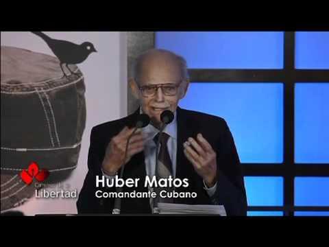 Pronunciamiento: Huber Matos, héroe de la libertad en América.