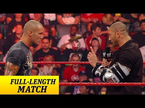 Batista Returns From Injury - Raw, Sept. 14, 2009 video